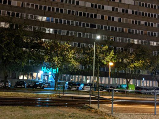 Hotel Berlin Adlergestell